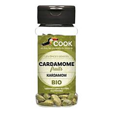 Cardamome Fruits 25G Bio