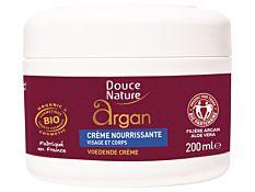 Crème nourrissante corps et visage à l'Argan 200Ml Bio
