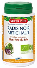 Radis Noir Artichaut Bio - 90 gélules Bio