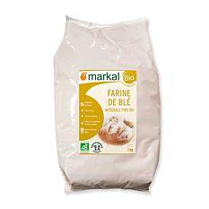 Farine de blé intégrale T150 1Kg Bio