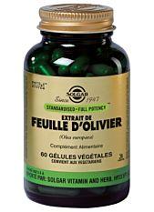 Extrait de feuilles d'olivier - 60 Gélules