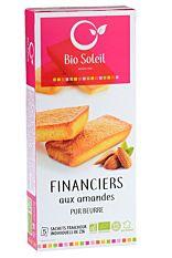 Financiers aux amandes pur beurre 125G Bio