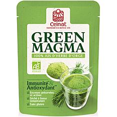 Green Magma 100% jus d'orge 150G Bio