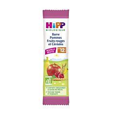 Barres Pommes Frts Rouges 25G Bio