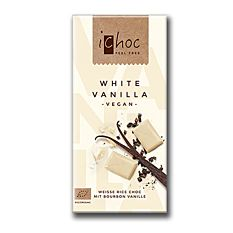 Chocolat au lait de riz & vanille vegan 80G