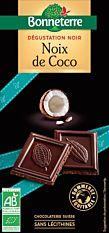 Chocolat noir & noix de coco 60% 95g Bio