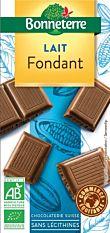 Chocolat Fondant Lait 100G Bio