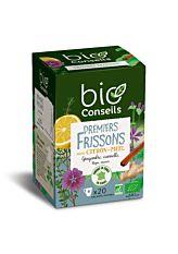 Infusion Premiers Frissons - 20 sachets Bio