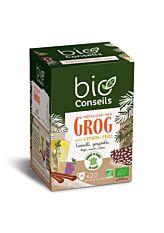 Infusion préparation pour Grog - 20 sachets Bio