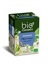 Infusion Sommeil tilleul & oranger - 20 sachet Bio