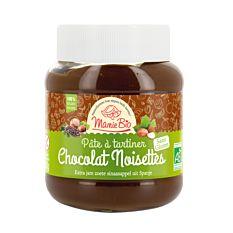 Pâte à tartiner chocolat noisettes sans lactose 350G Bio