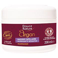 Masque capillaire réparateur à l'huile d'Argan 200Ml Bio