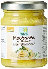 Moutarde Au Raifort 125ml Bio