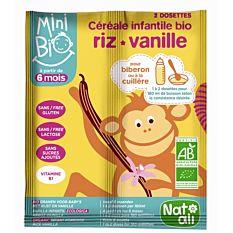 Cereales Vanille 2X8G Bio