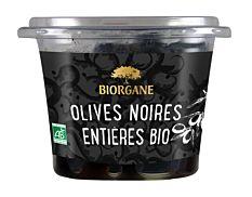 Olives noires entières 250G Bio