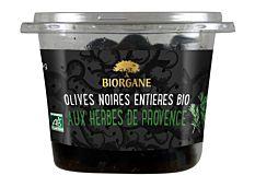 Olives noires aux herbes de Provence 250G Bio