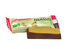 Pâte d'amande pistache & chocolat 25g Bio