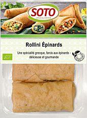 Rollini Epinards Feta 3X50G Bio