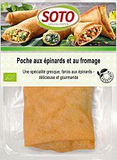 Poche aux épinards & fromage 150G Bio
