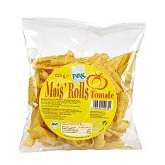 Maïs rolls à la tomate 125G Bio