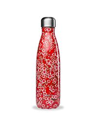Bouteille Flowers Rouge Inox 500ml