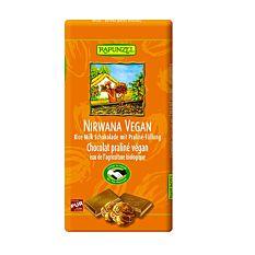 Chocolat au lait praliné vegan 100G