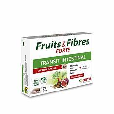 Fruits & Fibres Forté Transit Intestinal - 24 cubes