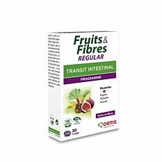 Fruits & Fibres Regular Transit intestinal - 30 comprimés