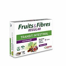 Fruits & Fibres Regular Transit Intestinal - 24 cubes