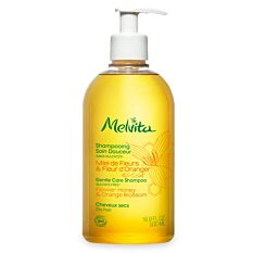 Shampooing doux Miel & Fleur d'oranger cheveux secs 500Ml Bio