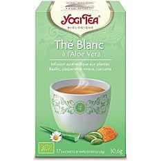 Thé blanc à l'aloe vera - 17 sachets Bio