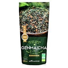 Thé vert Genmaicha 100G Bio