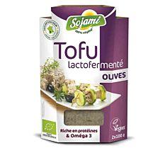 Tofu lactofermenté aux olives 200G Bio