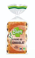 Pains au Chocolat 6x45g Bio