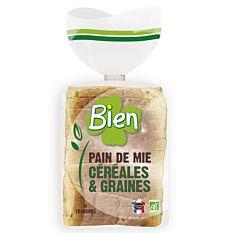 Pain de Mie Céréales & Graines 500g Bio