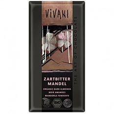 Chocolat noir aux amandes 100g Bio