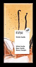 Chocolat blanc à la Vanille 80g Bio