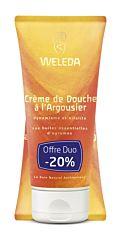 Crème de douche dynamisante Argousier 2x200Ml Bio