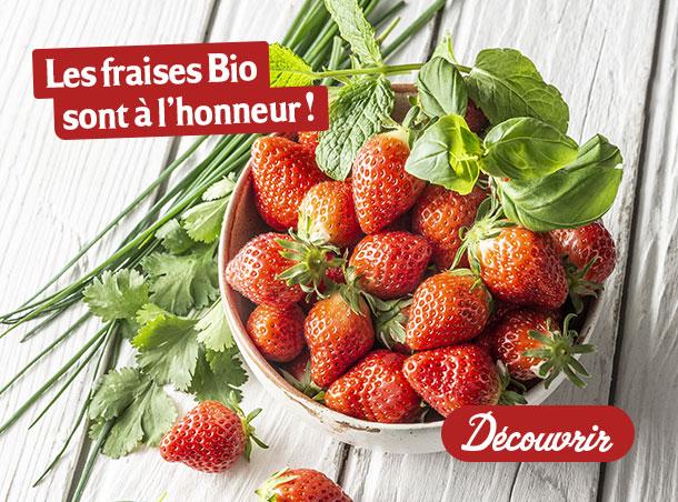 Les fraises sont à l'honneur