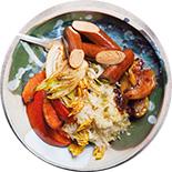 choucroute bowl vegan