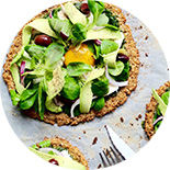 pizza veggie sans gluten
