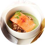 saumon roti sauce coco matcha